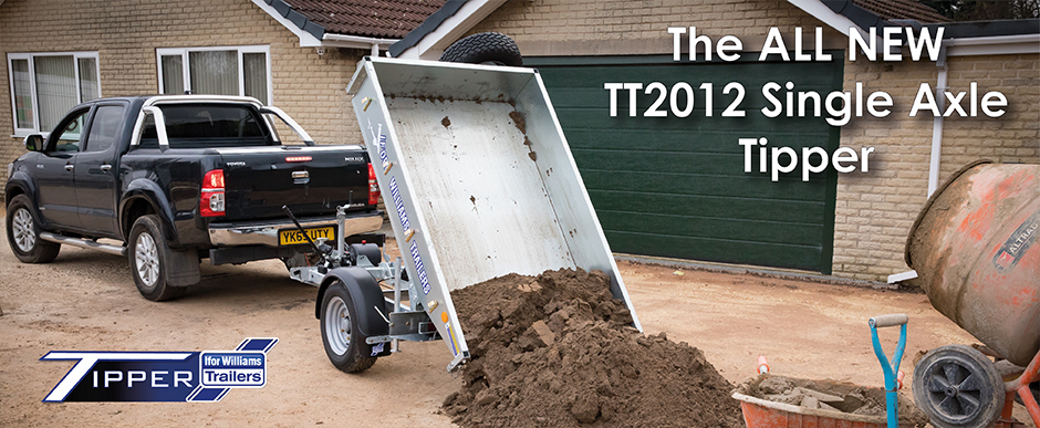 Single Axle Tipper - The TT2012 is light, adaptable and has a wide range of applications