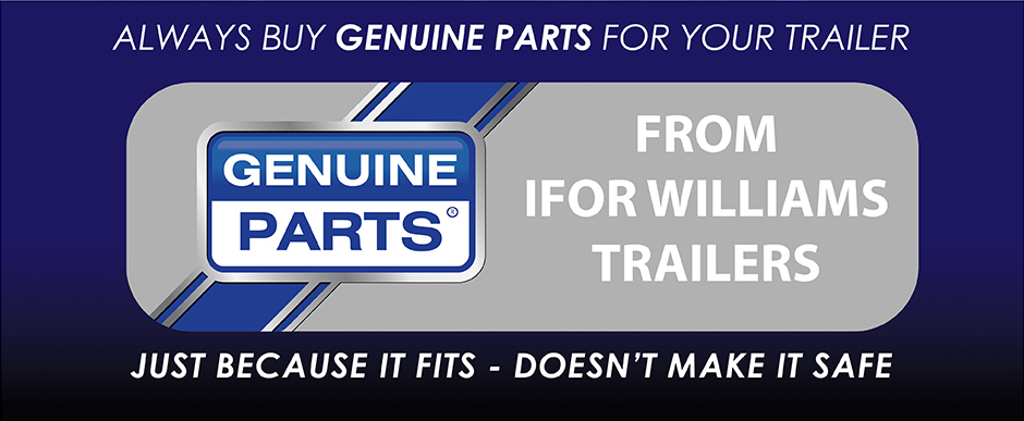 Genuine Parts - Always buy Genuine Parts from Ifor Williams Trailers