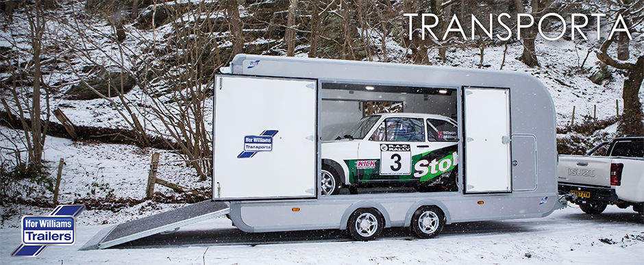 Transporter - The perfect trailer for motorsport enthusiasts