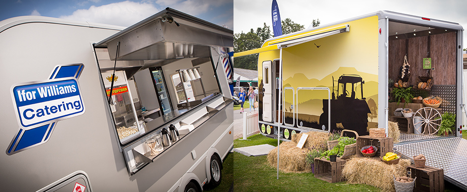 Business Inabox - Ifor Williams Trailers Business Inbox takes mobile retail to a new level.