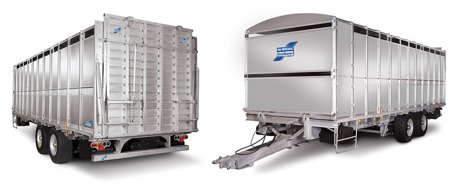 StockMaster - The new StockMaster is Ifor Williams' largest trailer to date with a maximum gross weight of 21 tonnes.