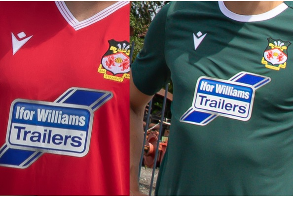 Wrexham Home and Away Kit