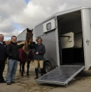 Competition joy for horse loving Marjorie