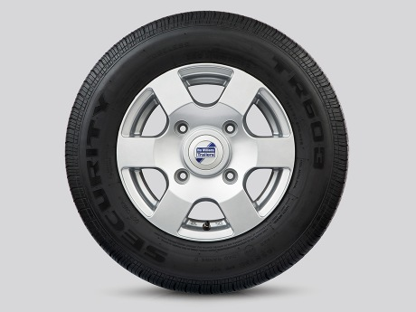 Alloy Wheels - 6 Spoke Silver