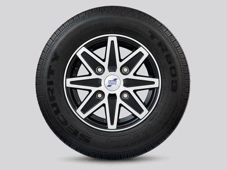 Alloy Wheels - 8 Spoke Diamond Cut
